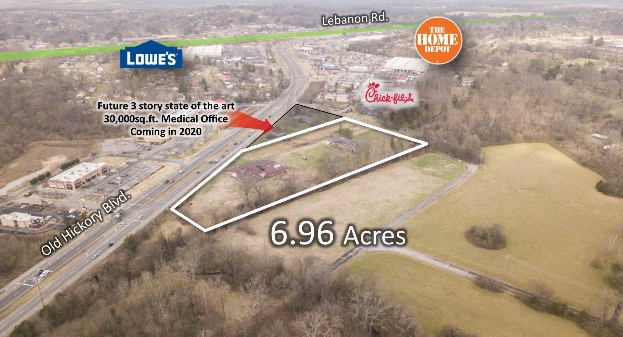 Commercial for Sale at 304 Old Lebanon Dirt Road Hermitage, Tennessee 37076 United States