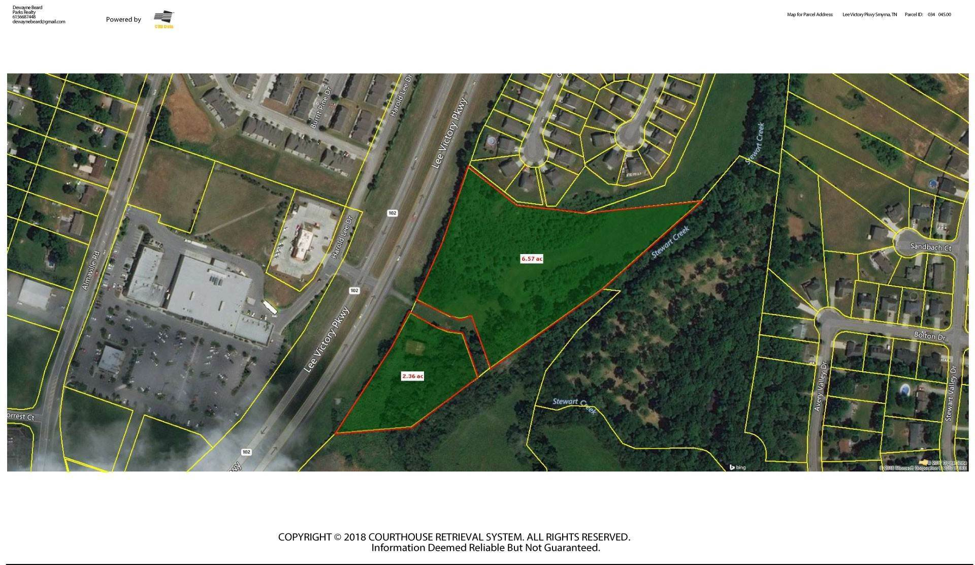 Land for Sale at Lee Victory Pkwy Smyrna, Tennessee 37167 United States