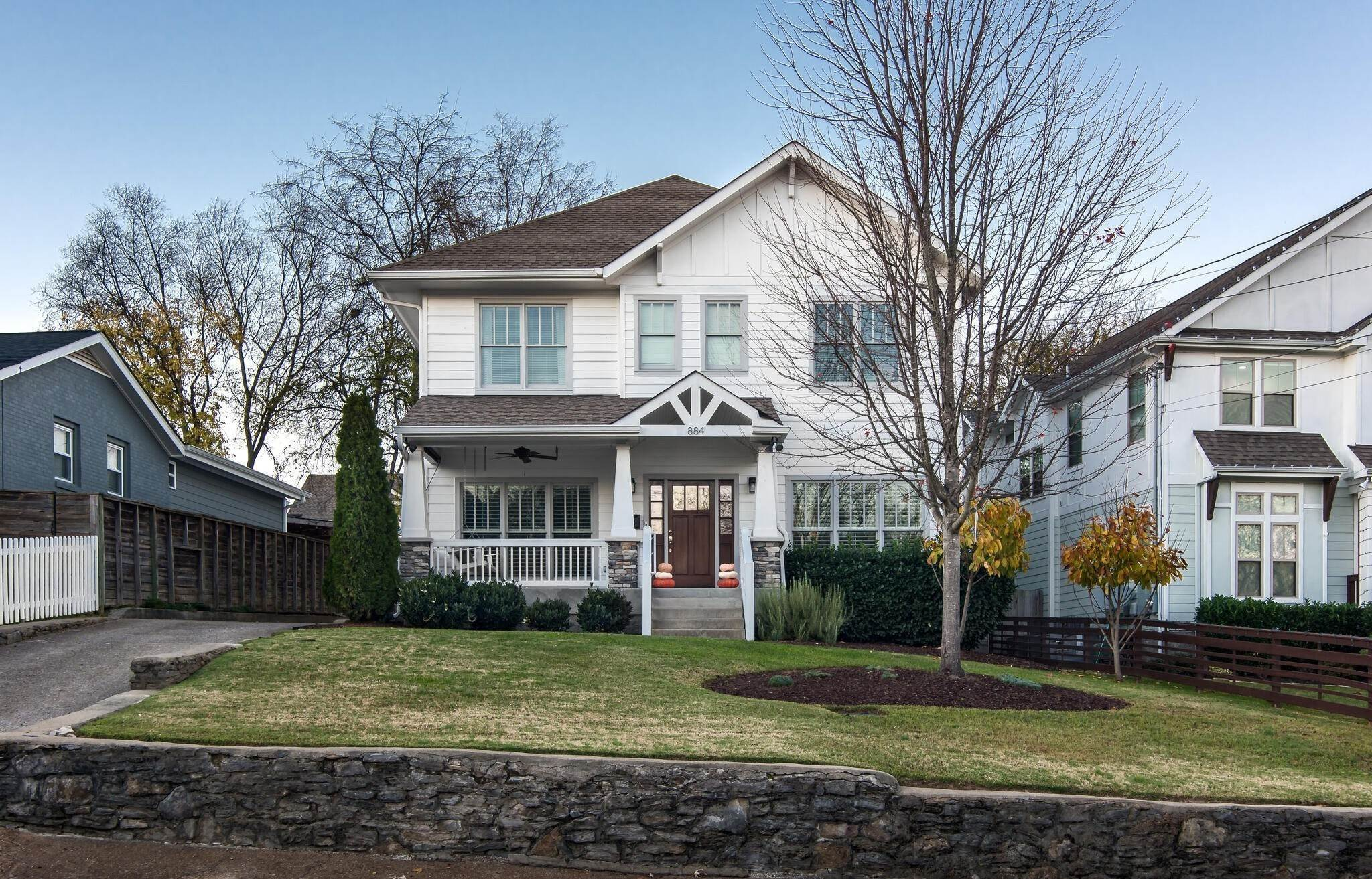 4. Single Family Homes for Sale at 884 Montrose Avenue Nashville, Tennessee 37204 United States