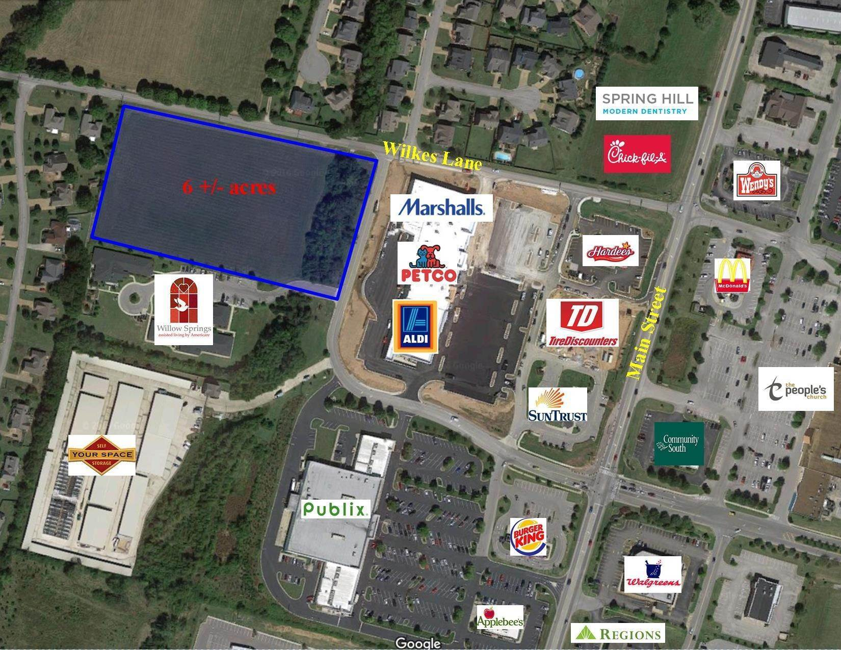 Commercial for Sale at Wilkes Lane Spring Hill, Tennessee 37174 United States