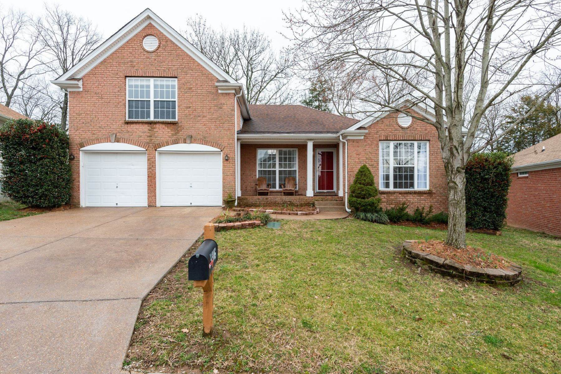 Single Family Homes for Sale at 3316 Tinney Place, Nashville, TN 37217 3316 Tinney Place Nashville, Tennessee 37217 United States